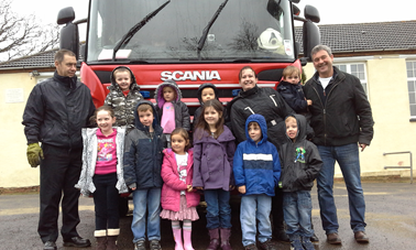 NEW YEARS EVE FIRE FIGHTER VISIT