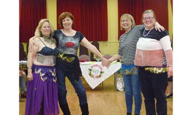 Traditional Egyptian Dancing - In March 2018 we all had a wonderful evening thanks to Sue leading us through the basics of Egyptian dance moves. So, were we belly dancing? <br/>Well you will have to come along and join us to find out.