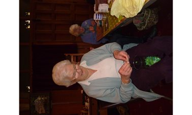 Braunston WI Craft group make green hearts - In 2018 Braunston WI members made Seeded Green Hearts to start conversations about Climate Change for this year's Show the Love Campaign. What do you most worry about losing due to Climate Change?