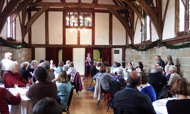 Lunch at the Lord Leycester Hospital 2015