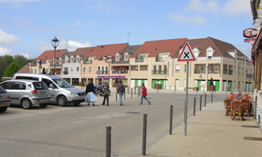 The Square in Quincy Voisins