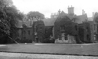 Watford Court in the 1930s - Lord Henley's Manor House