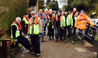 The Canal Society Volunteers
