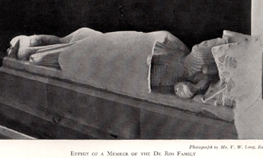 Effigy of a member of the Dr. Ros Family