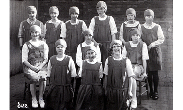 Girls' Sports Day - 1920's