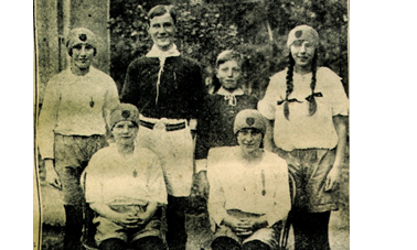 Braunston's Young Athletes, July 1st 1927