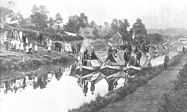 Boats laid up during the strike