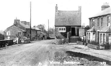 The Wharf cottages (on the A.45)