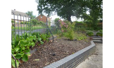 Community Herb Garden - Come and see how many herbs there are in the garden now!