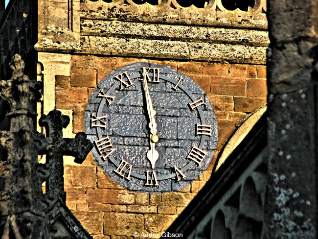All Saints' Church Clock