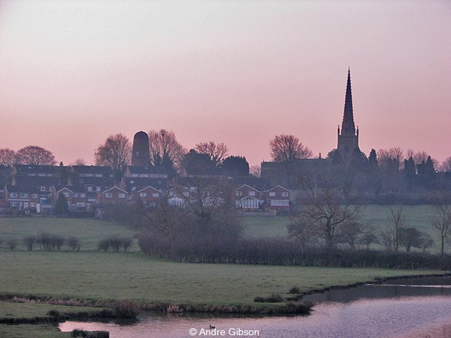 Dawn over Braunston